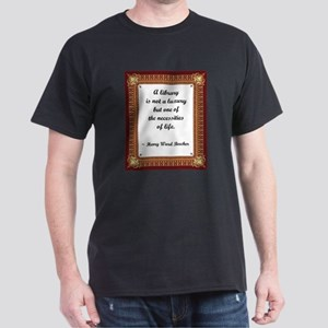 A Little Library Dark T-Shirt