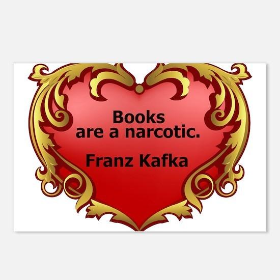 Kafka - On Books Postcards (Package of 8)
