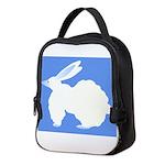 Big Bulky Bubble Bunny Bobby Neoprene Lunch Bag