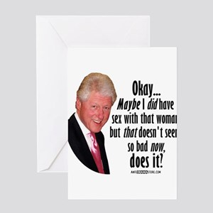 Maybe I did, BUT... Greeting Card