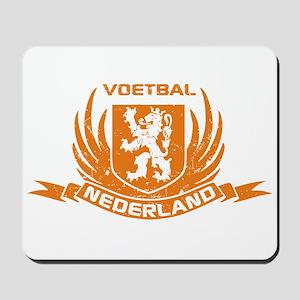 Voetbal Nederland Crest Mousepad