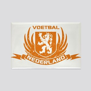 Voetbal Nederland Crest Rectangle Magnet
