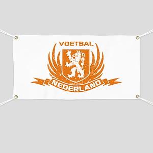 Voetbal Nederland Crest Banner
