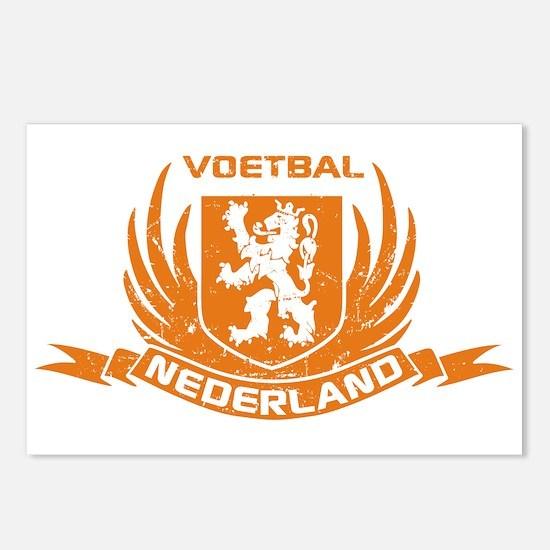Voetbal Nederland Crest Postcards (Package of 8)