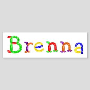 Brenna Balloons Bumper Sticker