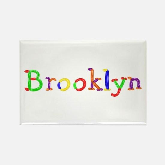 Brooklyn Balloons Rectangle Magnet