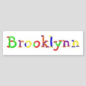 Brooklynn Balloons Bumper Sticker