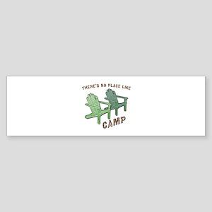 No Place Like Camp - Sticker (Bumper)