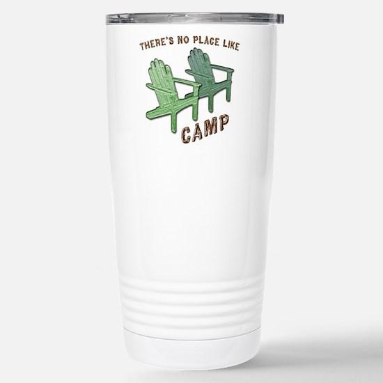 No Place Like Camp - Stainless Steel Travel Mug