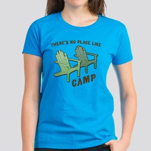 No Place Like Camp - Women's Dark T-Shirt