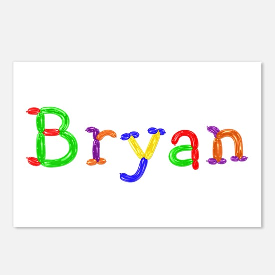 Bryan Balloons Postcards 8 Pack