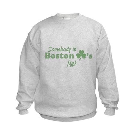 Somebody in Boston Kids Sweatshirt