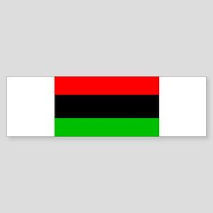 African American Flag Sticker (Bumper)