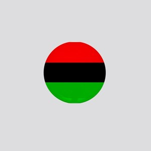 African American Flag Mini Button