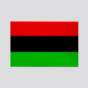 African American Flag Rectangle Magnet