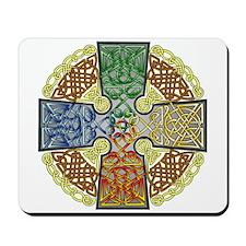 Elemental Celtic Cross Mousepad