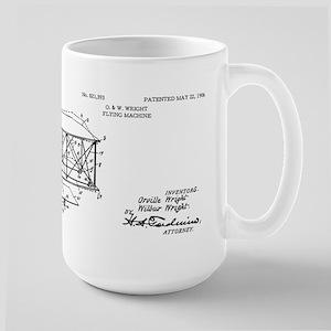 Wright Flyer Large Mug Mugs