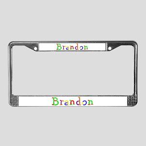 Brandon Balloons License Plate Frame