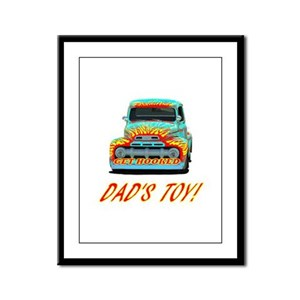 DAD'S TOY! Framed Panel Print