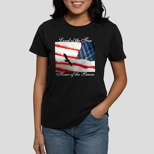Freedom Rocks Women's Dark T-Shirt