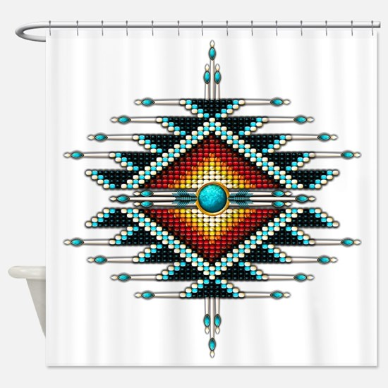Unique American indian Shower Curtain