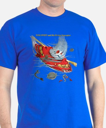 Seacopter & Text T-Shirt