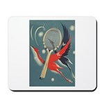 Birds WIth Racket - Tennis Mousepad