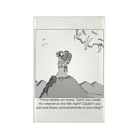 God's Blog Rectangle Magnet (10 pack)