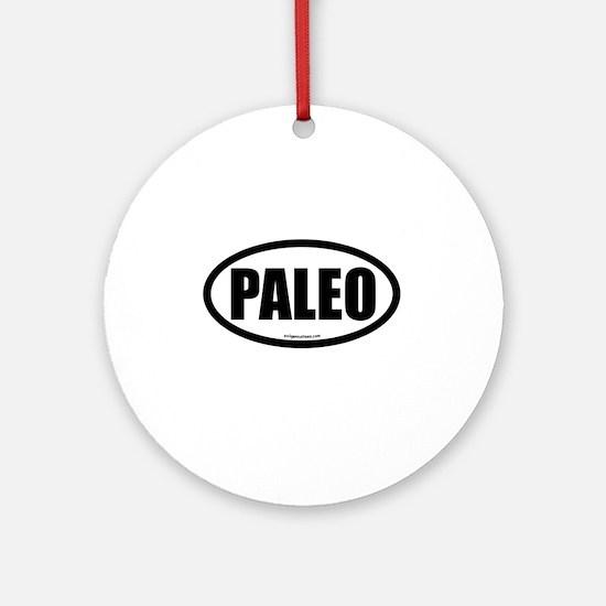 Paleo auto decal Ornament (Round)