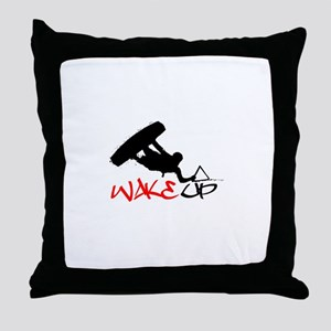 Wakeup Throw Pillow