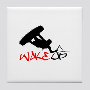 Wakeup Tile Coaster