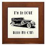 Love Car Duesenberg Framed Tile