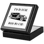 Love Car Duesenberg Keepsake Box