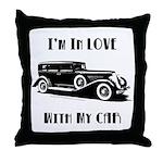 Love Car Duesenberg Throw Pillow