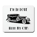 Love Car Duesenberg Mousepad