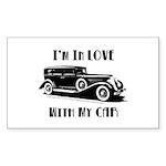 Love Car Duesenberg Sticker (Rectangle 10 pk)
