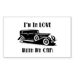 Love Car Duesenberg Sticker (Rectangle 50 pk)