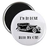 Love Car Duesenberg Magnet