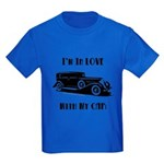 Love Car Duesenberg Kids Dark T-Shirt