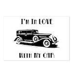 Love Car Duesenberg Postcards (Package of 8)