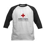 Temporary Organ Donor Kids Baseball Jersey
