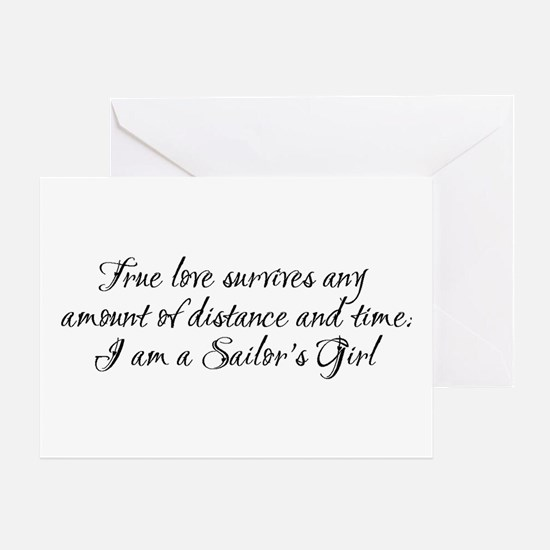 True Love Survives Greeting Card
