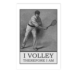 I Volley Therefore Am Postcards (package Of 8)
