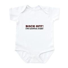 Back Off! I'm Gonna Fart Infant Bodysuit