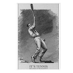 It's Tennis Postcards (package Of 8)