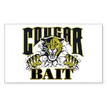 Cougar Bait Sticker (Rectangle 50 pk)