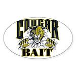 Cougar Bait Sticker (Oval)