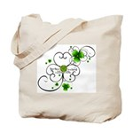 Burkes Shamrock Canvas Tote Bag