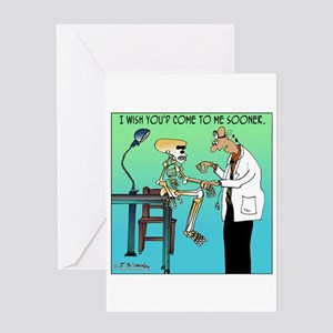 I wish you'd come to me sooner Greeting Card