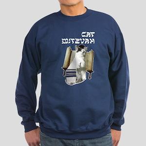Cat Mitzvah Sweatshirt (dark)
